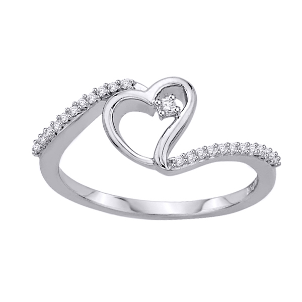 Zlatý prsten s 25 brilianty bílé zlato Au 0 52ff12f6ee5