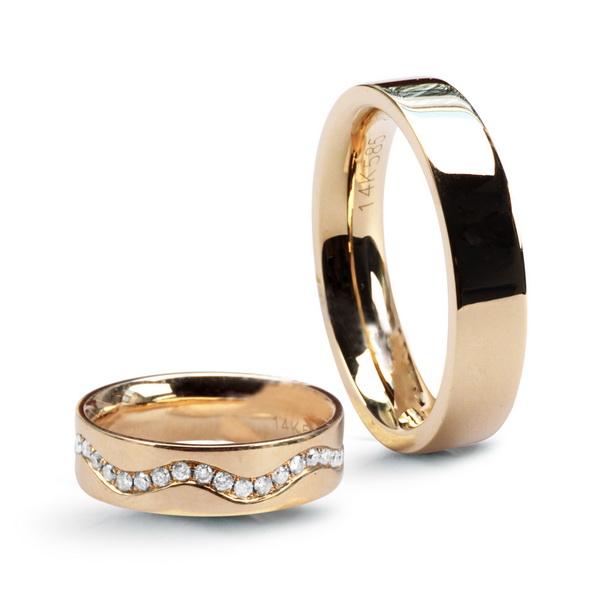 Snubni Zlaty Prsten Zlute Zlato Au 0 585 Xzx1749 E Shop Parada