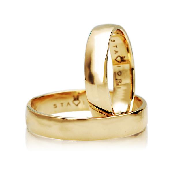 Snubni Zlaty Prsten Zlute Zlato Au 0 585 Ozx4703 4 Mm E Shop