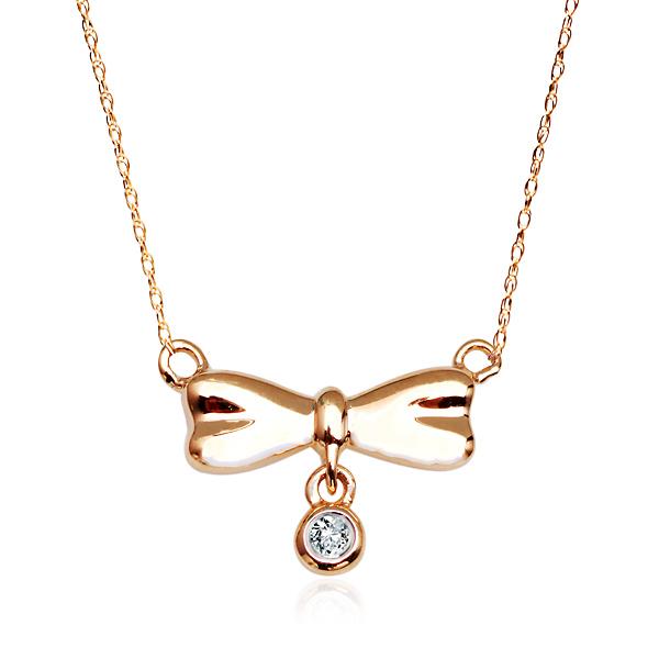 53351d383 Dámský zlatý náhrdelník s briliantem žluté zlato Au 0,585 - NZD4760 ...