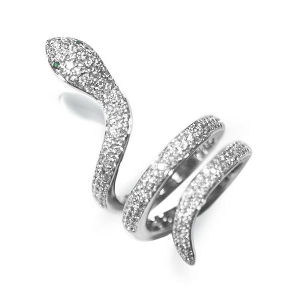 Zlatý prsten s 234 brilianty a 2 granáty bílé zlato Au 0 2ed62318b58